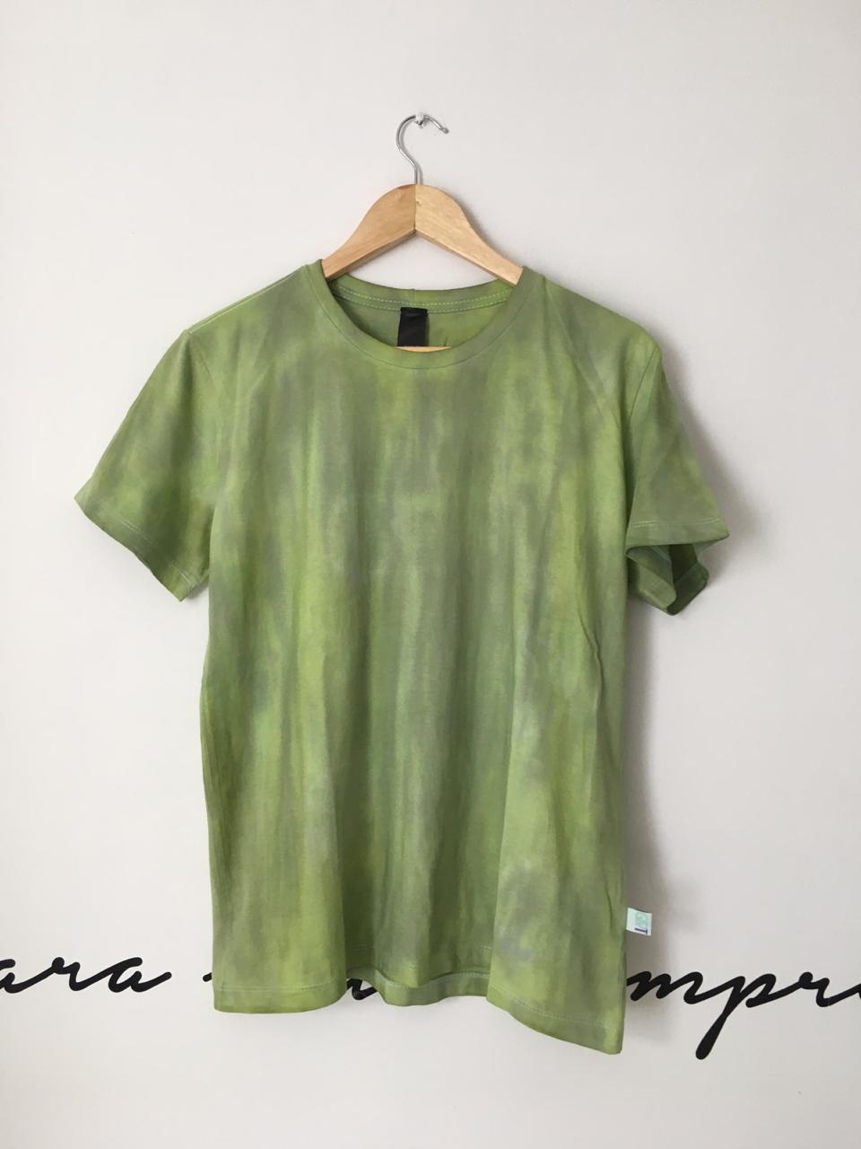 Camiseta Tie Dye - Avocado