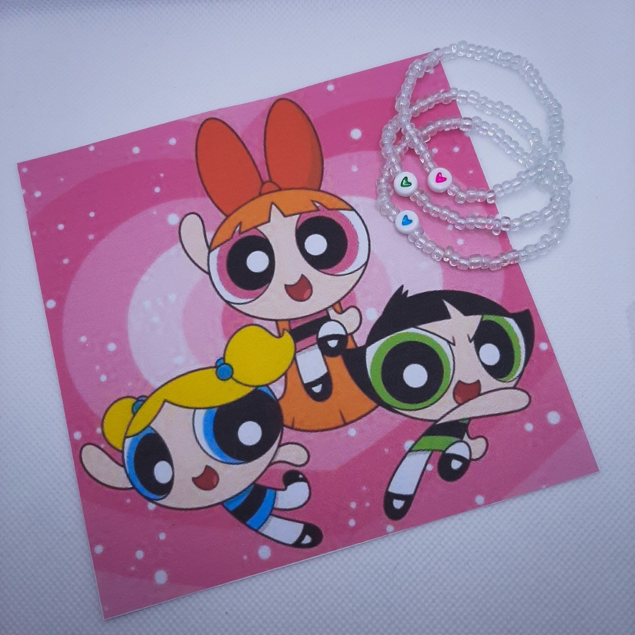 Conjunto 3 Pulseiras Meninas Super Poderosas Amizade