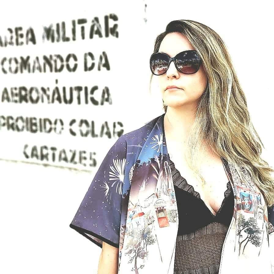 KIMONO FEMININO PARQUE DE DIVERSÃO