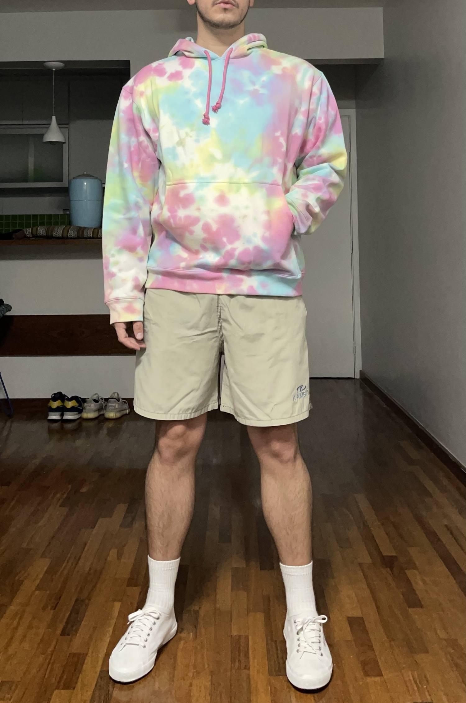 Moletom Tie Dye - Bubblegum