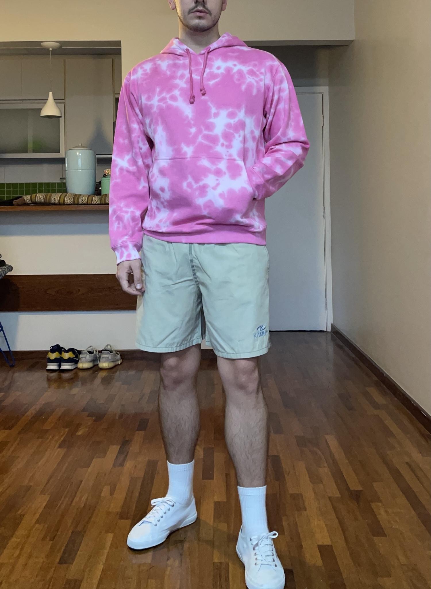 Moletom Tie Dye - Pink