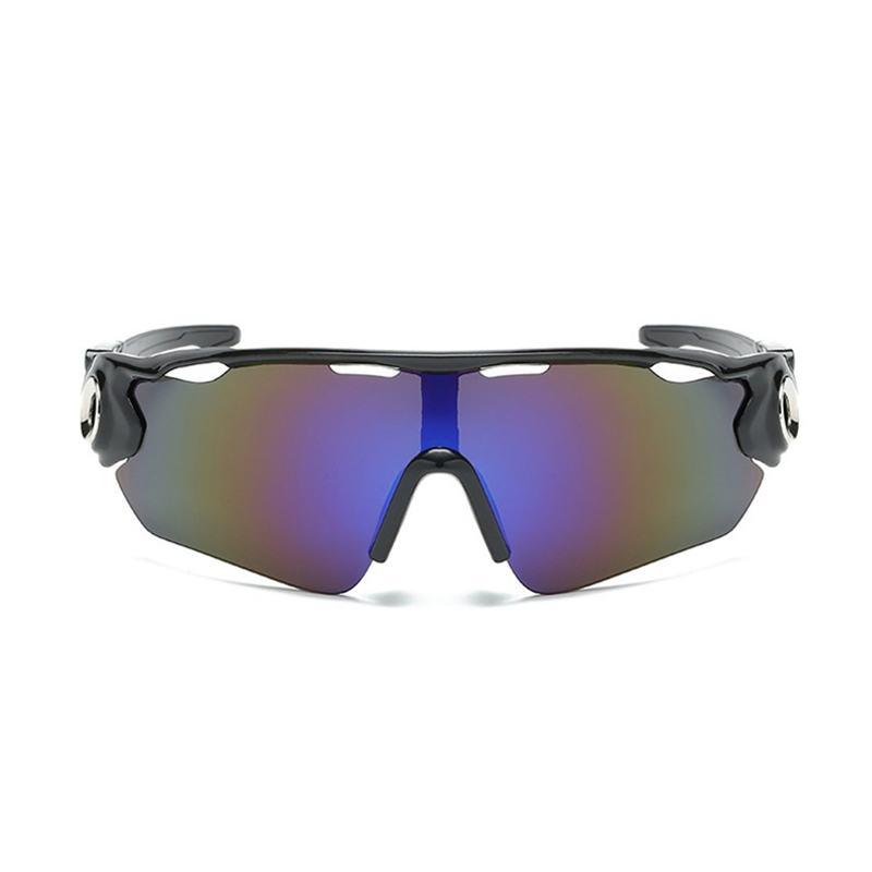 Óculos Ciclismo Multicolor Acetato UV400 - Preto