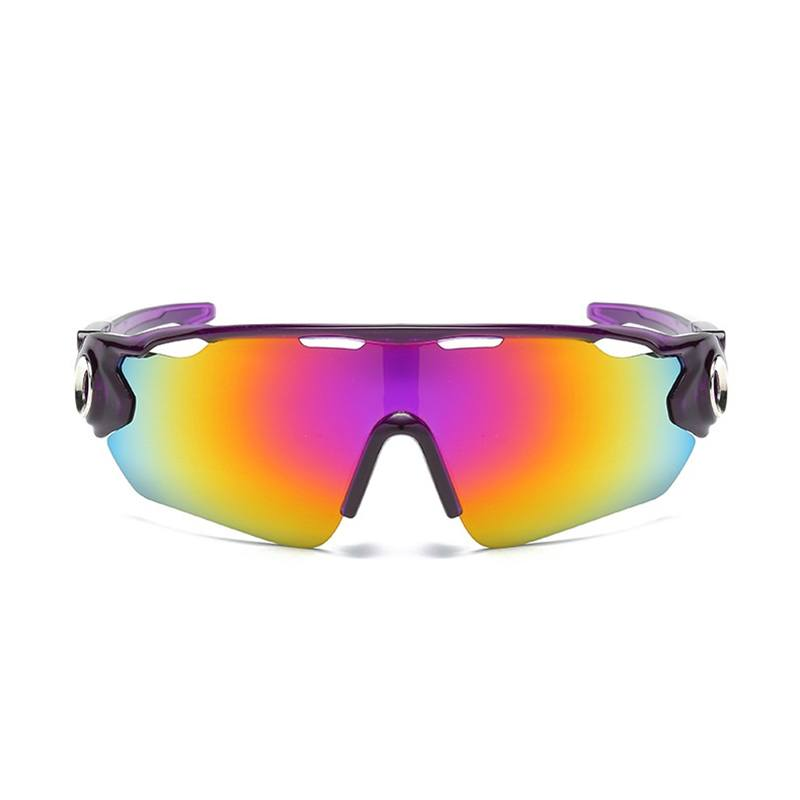 Óculos Ciclismo Multicolor Acetato UV400 - Roxo