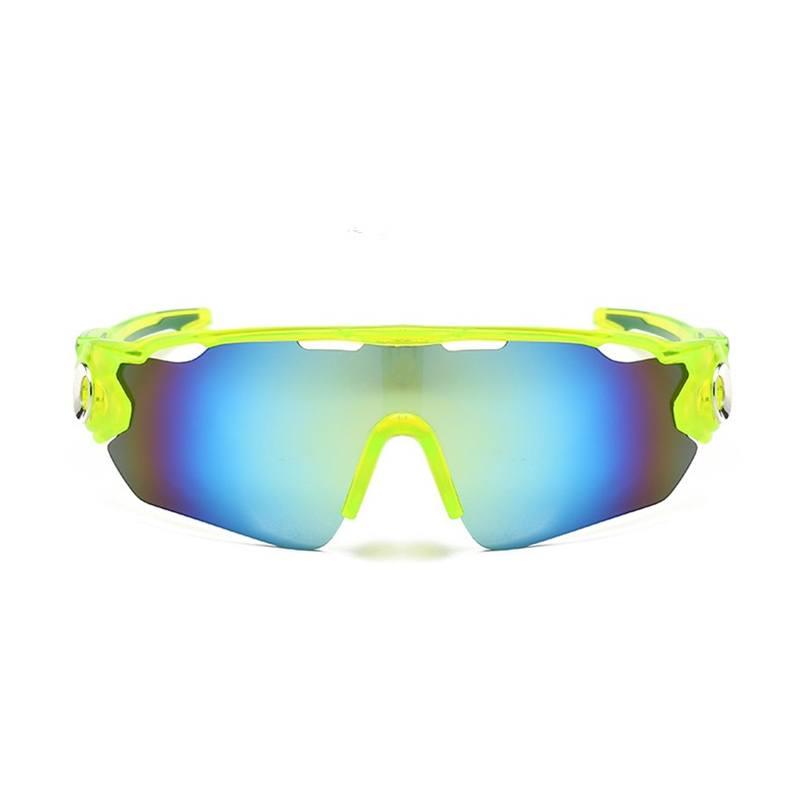 Óculos Ciclismo Multicolor Acetato UV400 - Verde