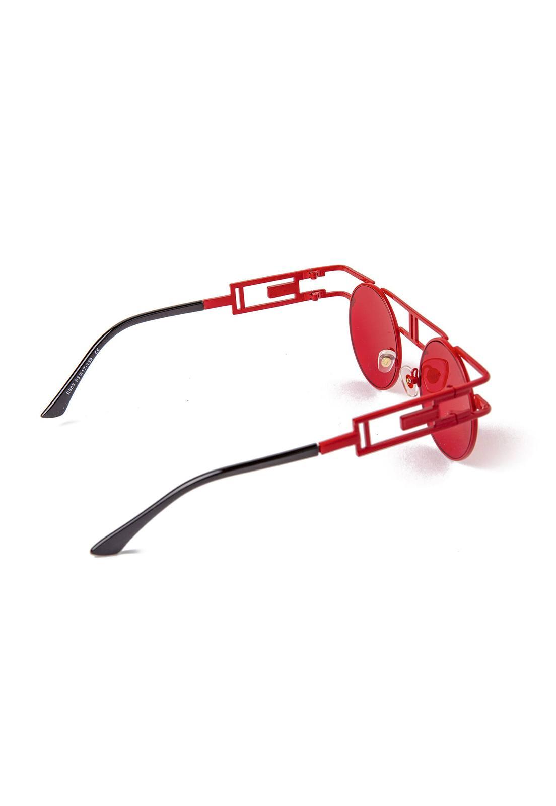Óculos de Sol Grungetteria Bender Vermelho