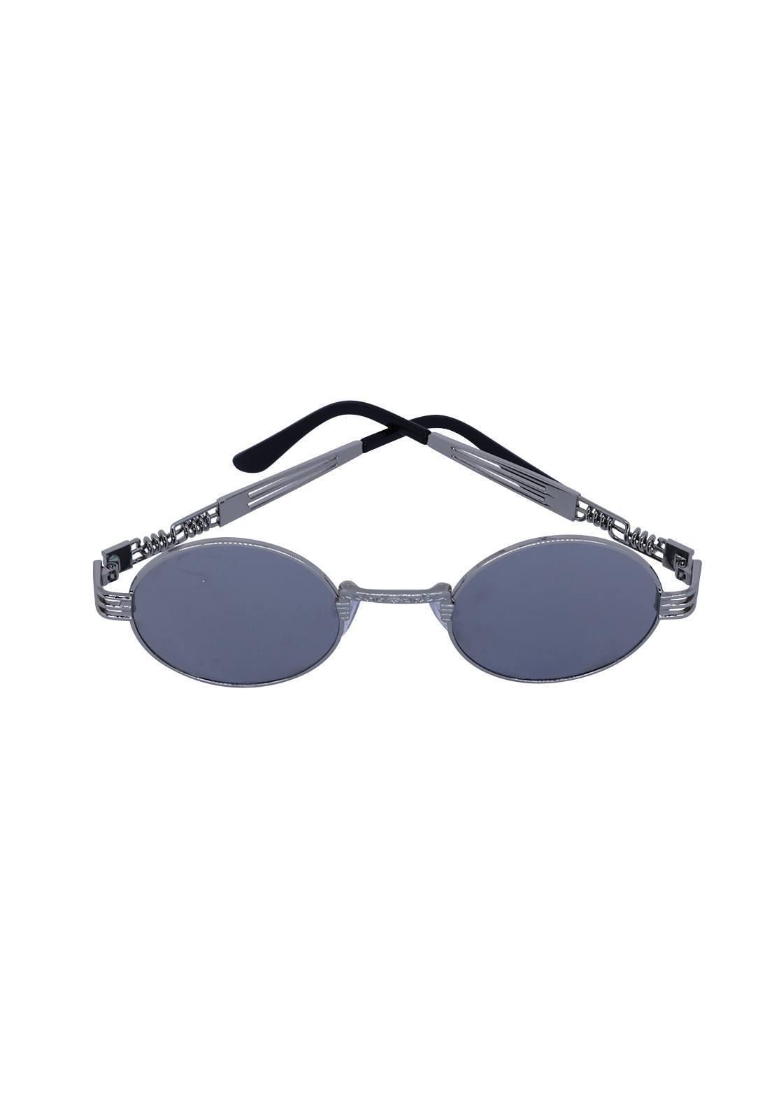 Óculos de Sol Grungetteria Creepy Prata