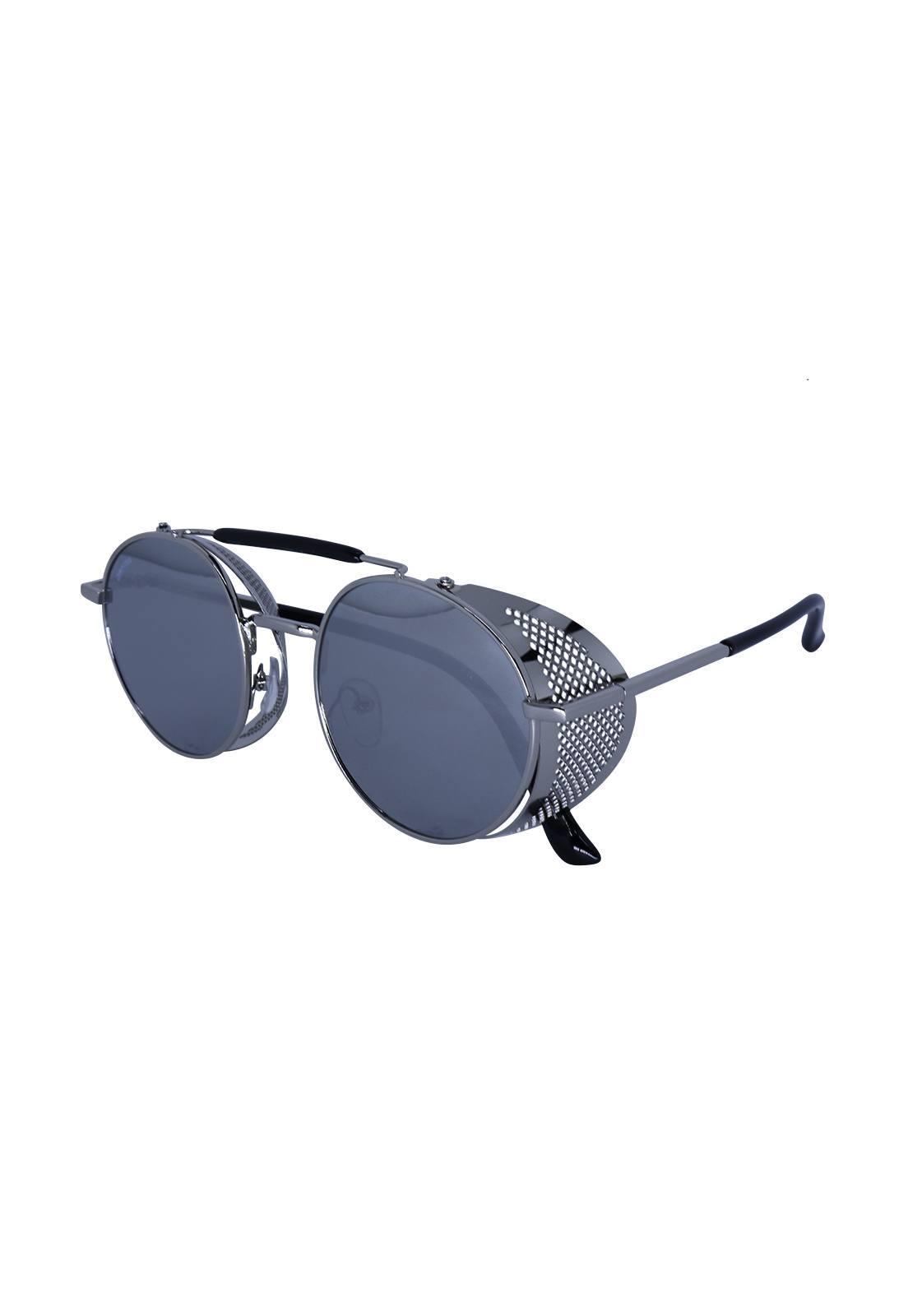 Óculos de Sol Grungetteria Easy Rider Cromado