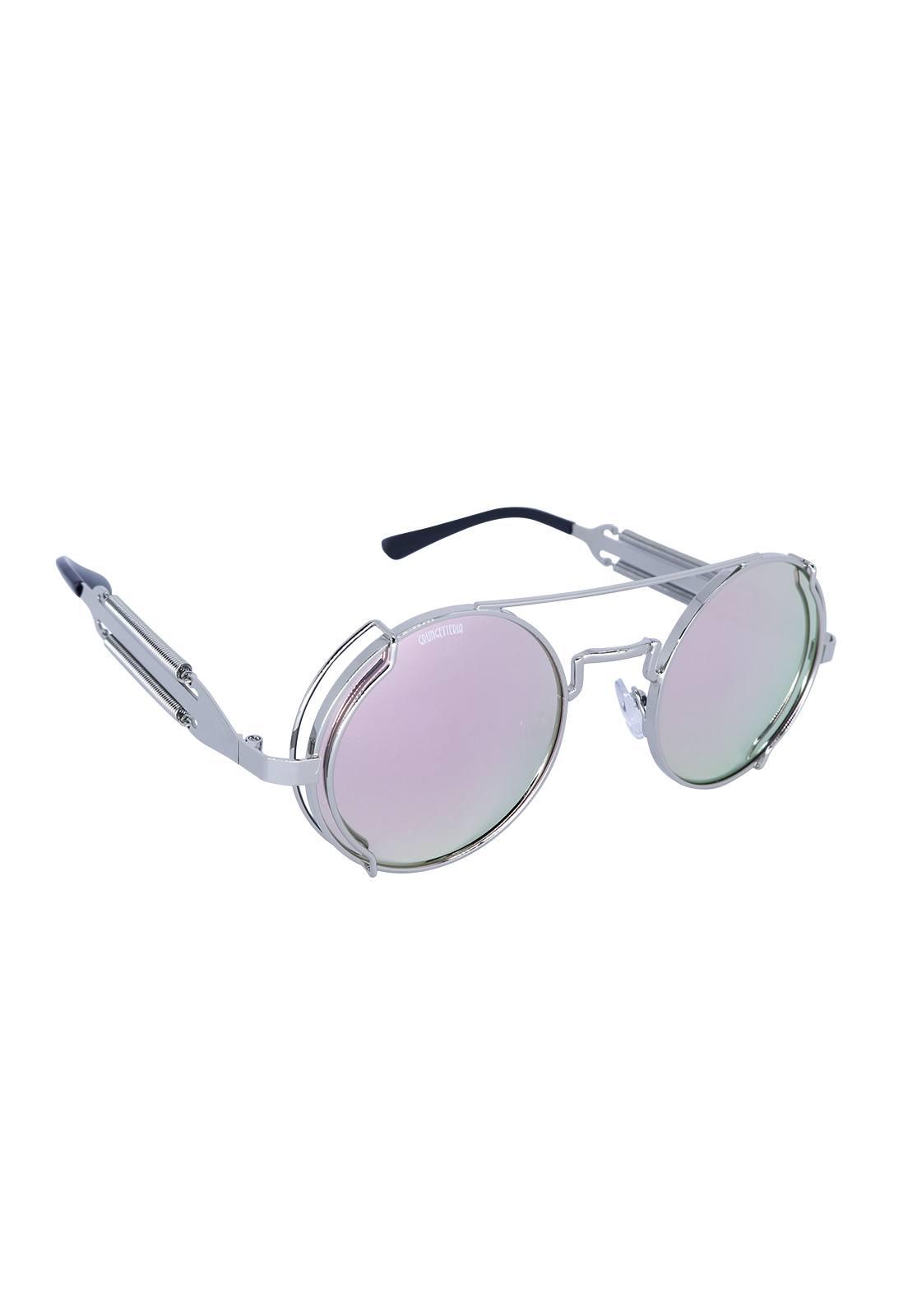 Óculos de Sol Grungetteria Fiction Cromada