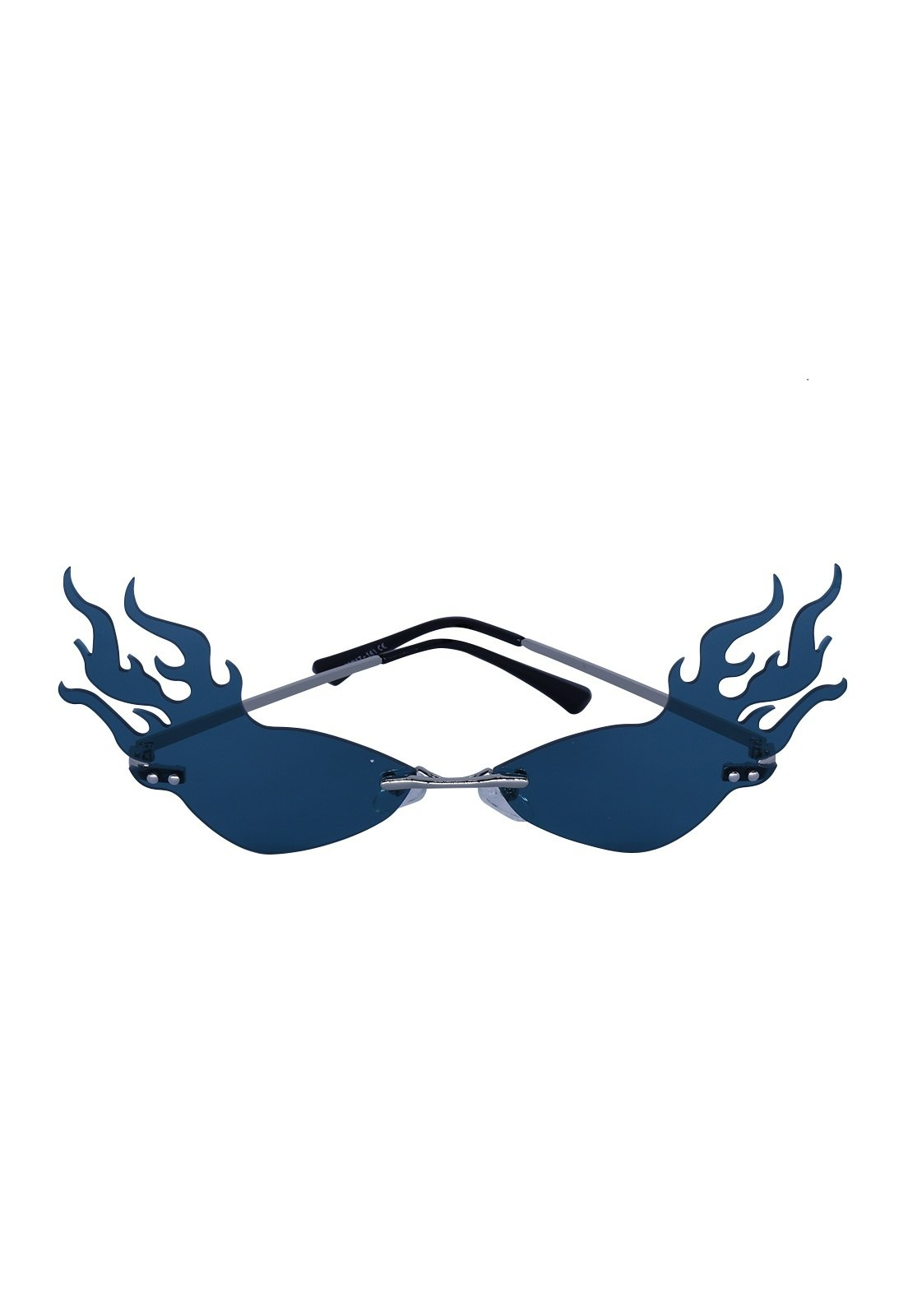 Óculos de Sol Grungetteria Fogo Nozoio Azul