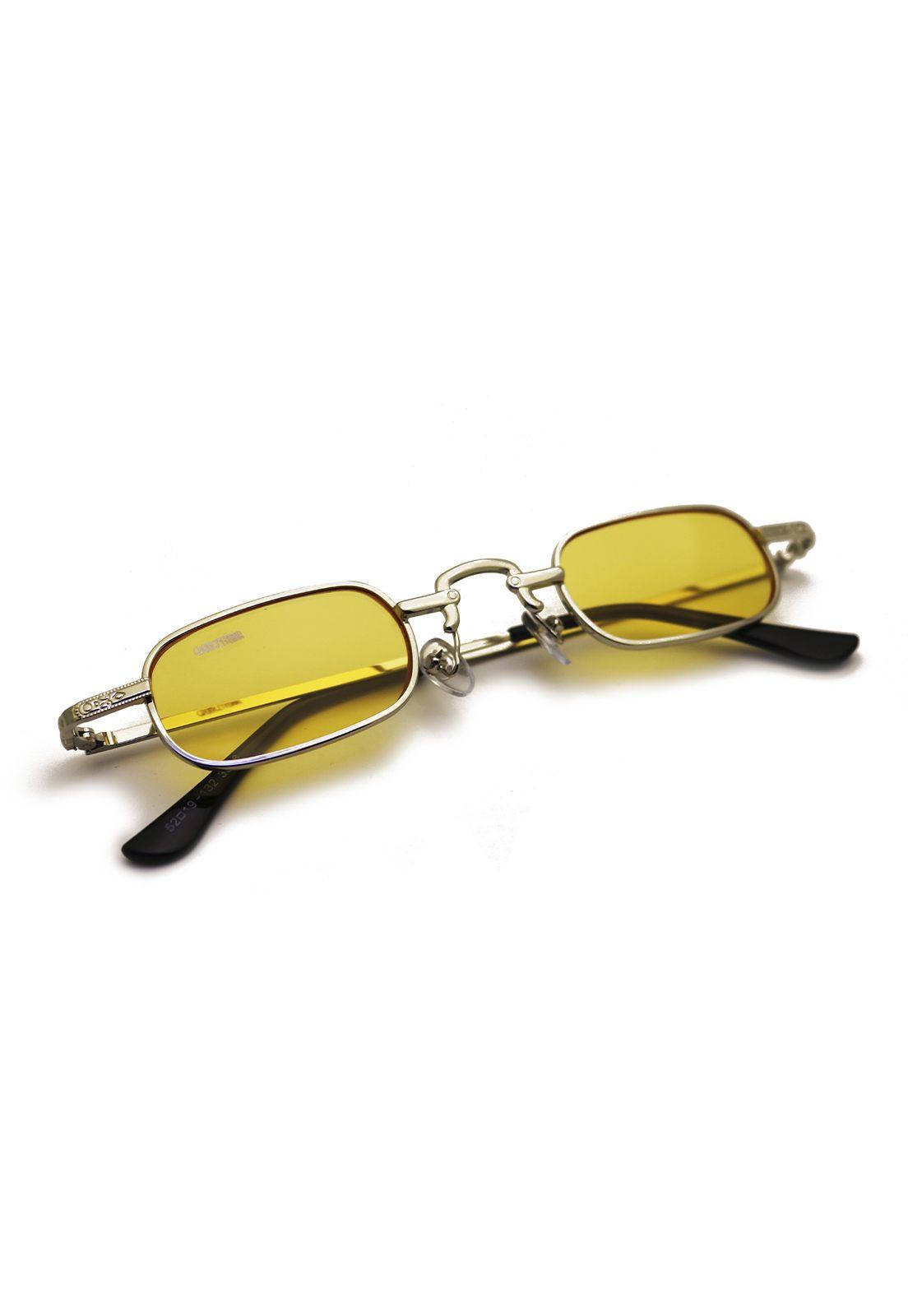 Óculos de Sol Grungetteria Jazz Amarelo