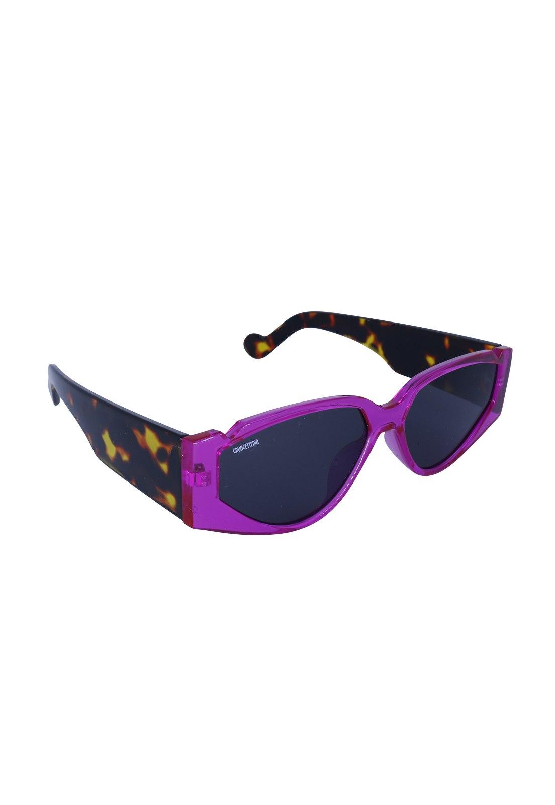 Óculos de Sol Grungetteria Jungle Roxa