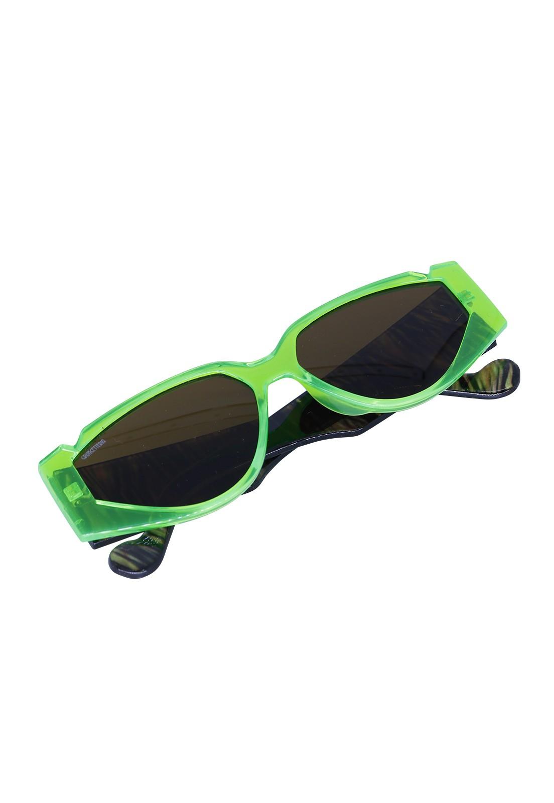 Óculos de Sol Grungetteria Jungle Verde
