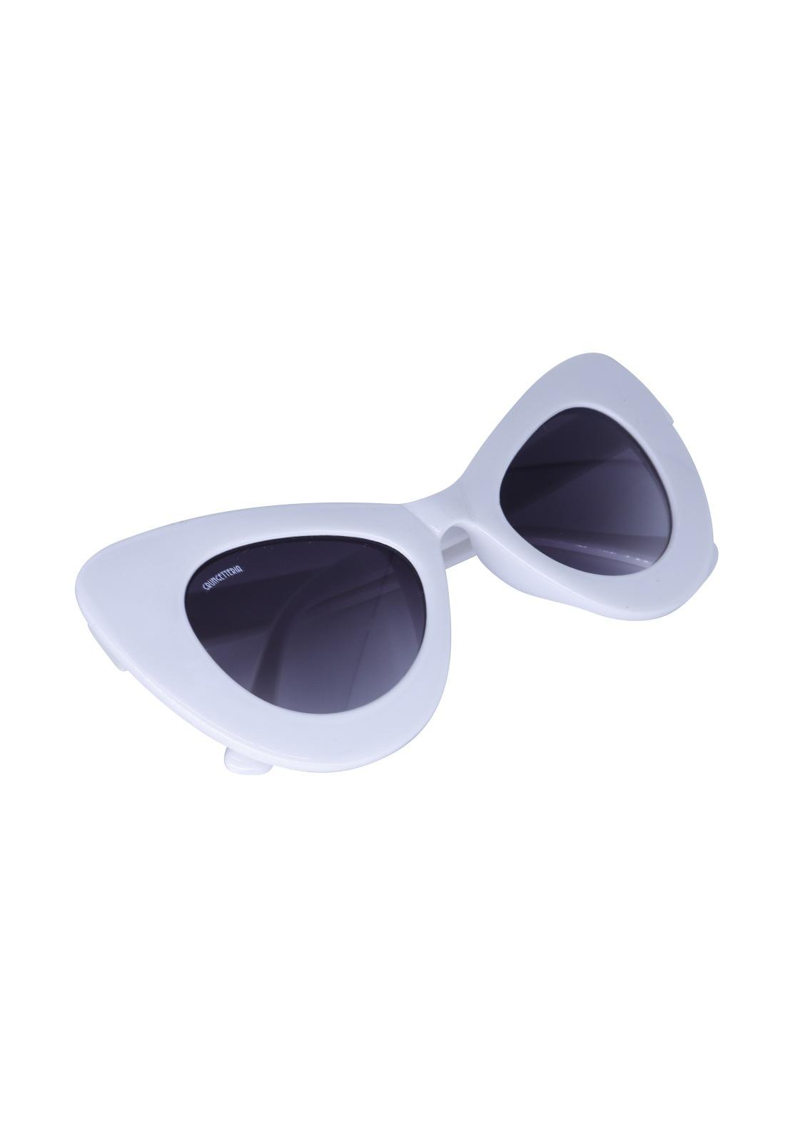 Óculos de Sol Grungetteria Lola Branco