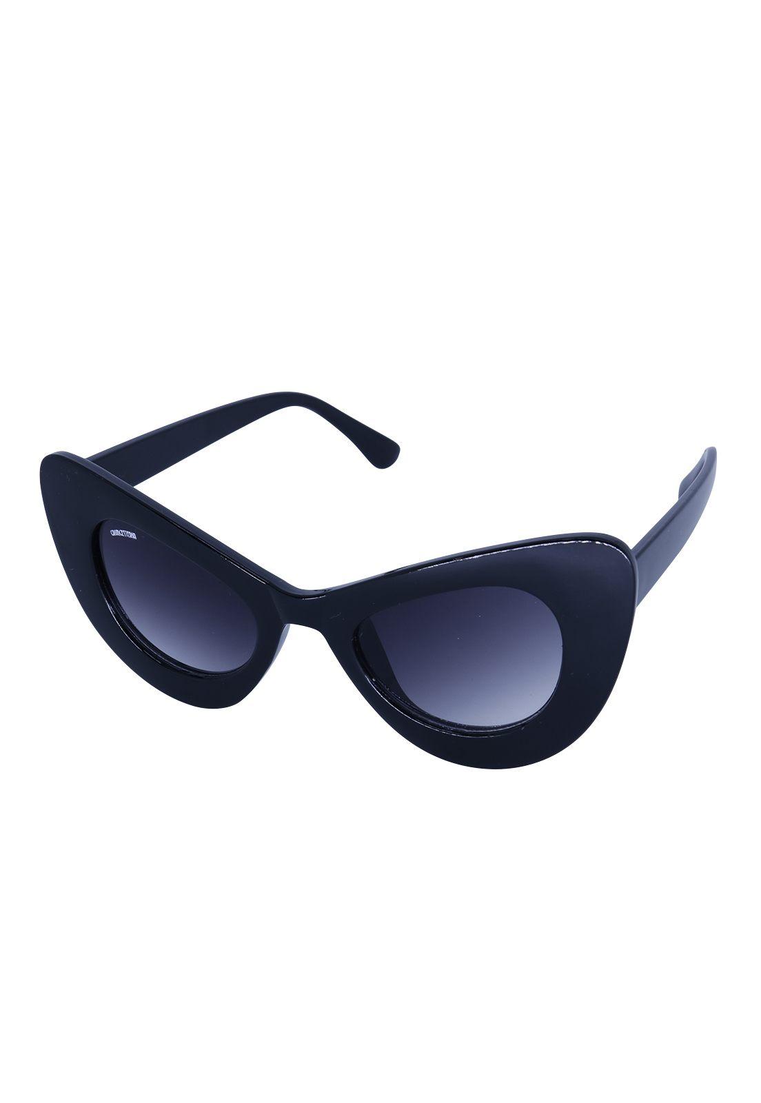 Óculos de Sol Grungetteria Lola Preto