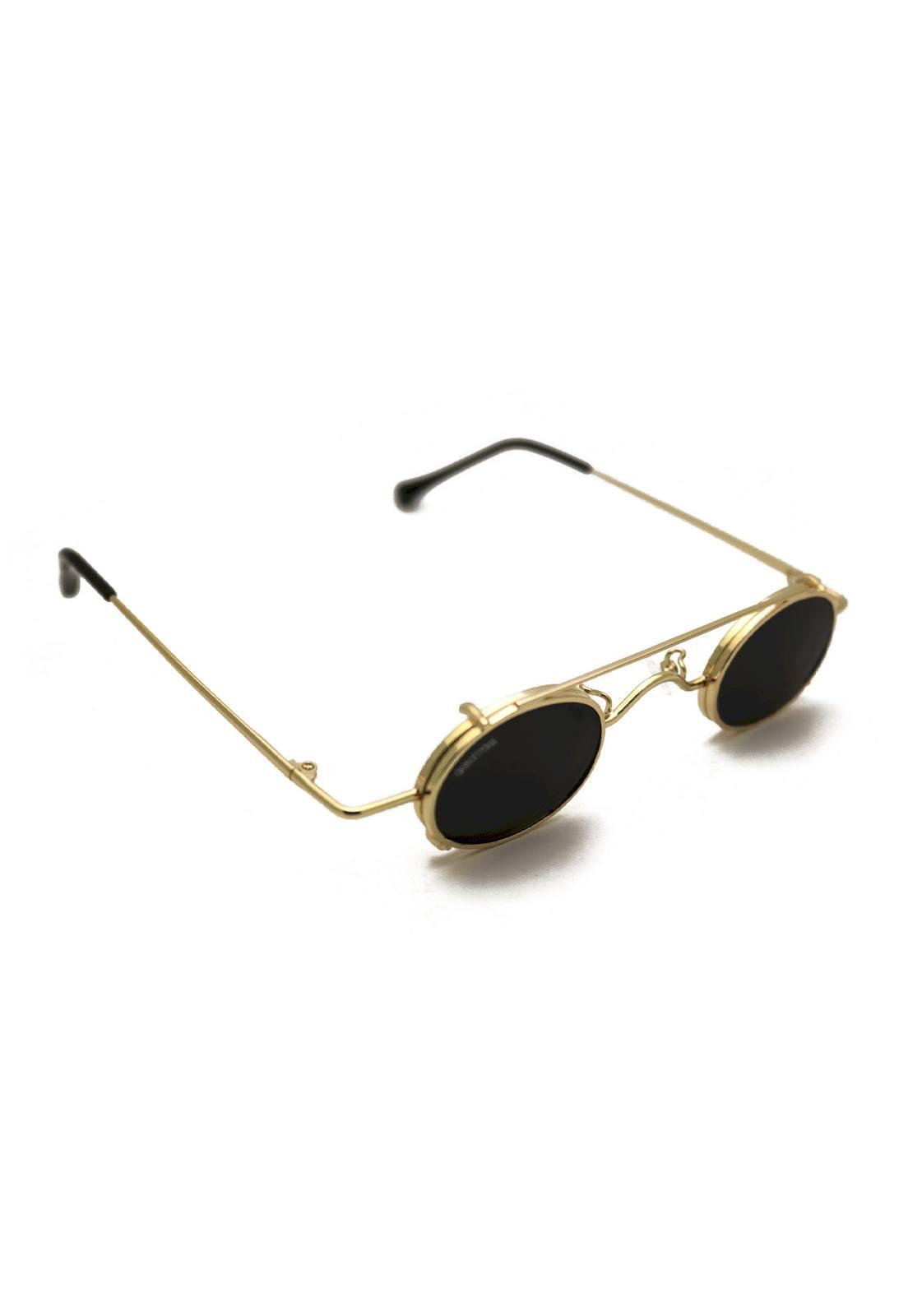 Óculos de Sol Grungetteria Miami Vice Dourado