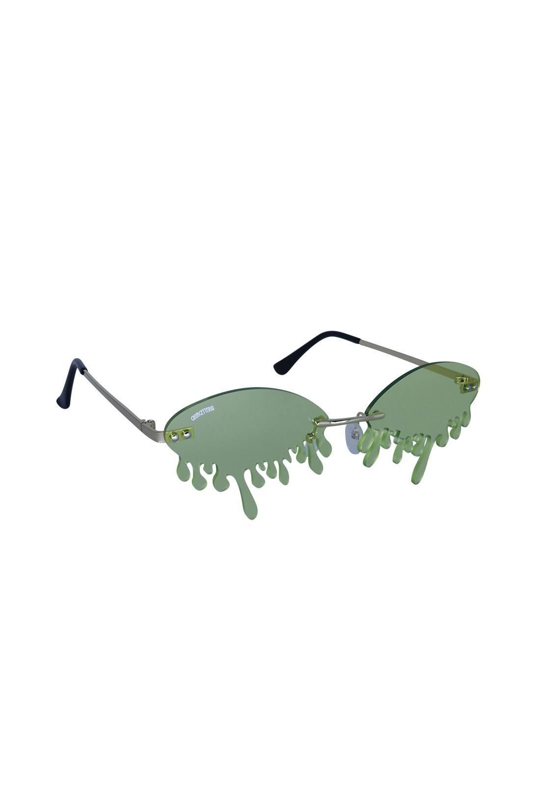 Óculos de Sol Grungetteria Minion's Tears Verde