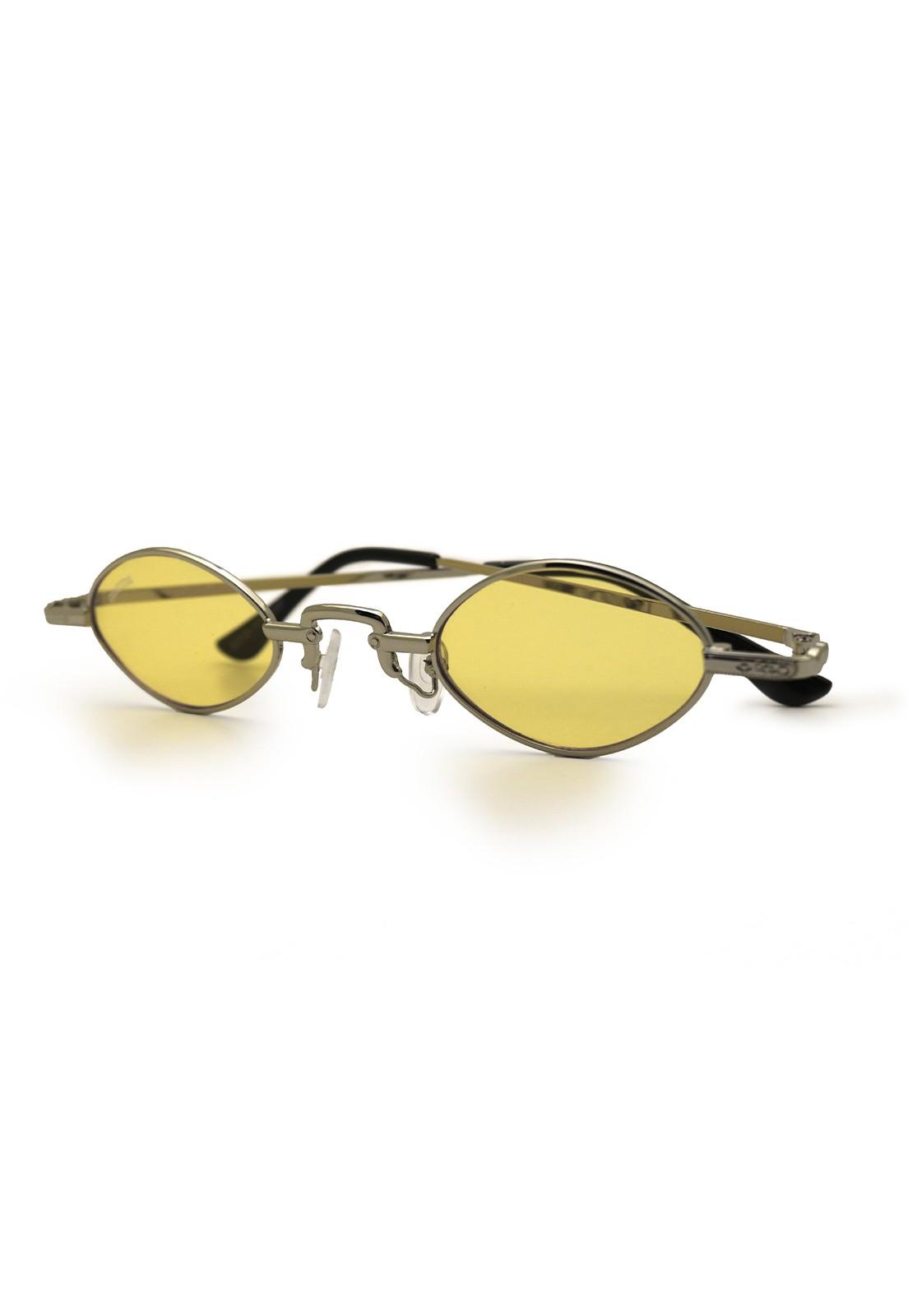 Óculos de Sol Grungetteria Osval Amarelo