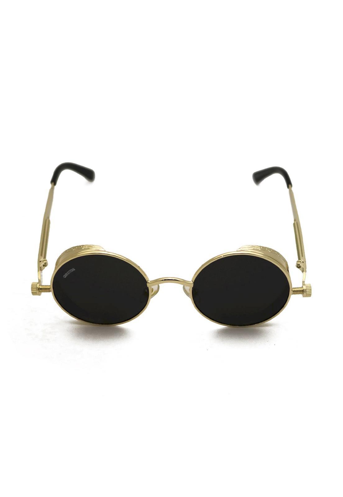 Óculos de Sol Grungetteria Sex Machine Dourado