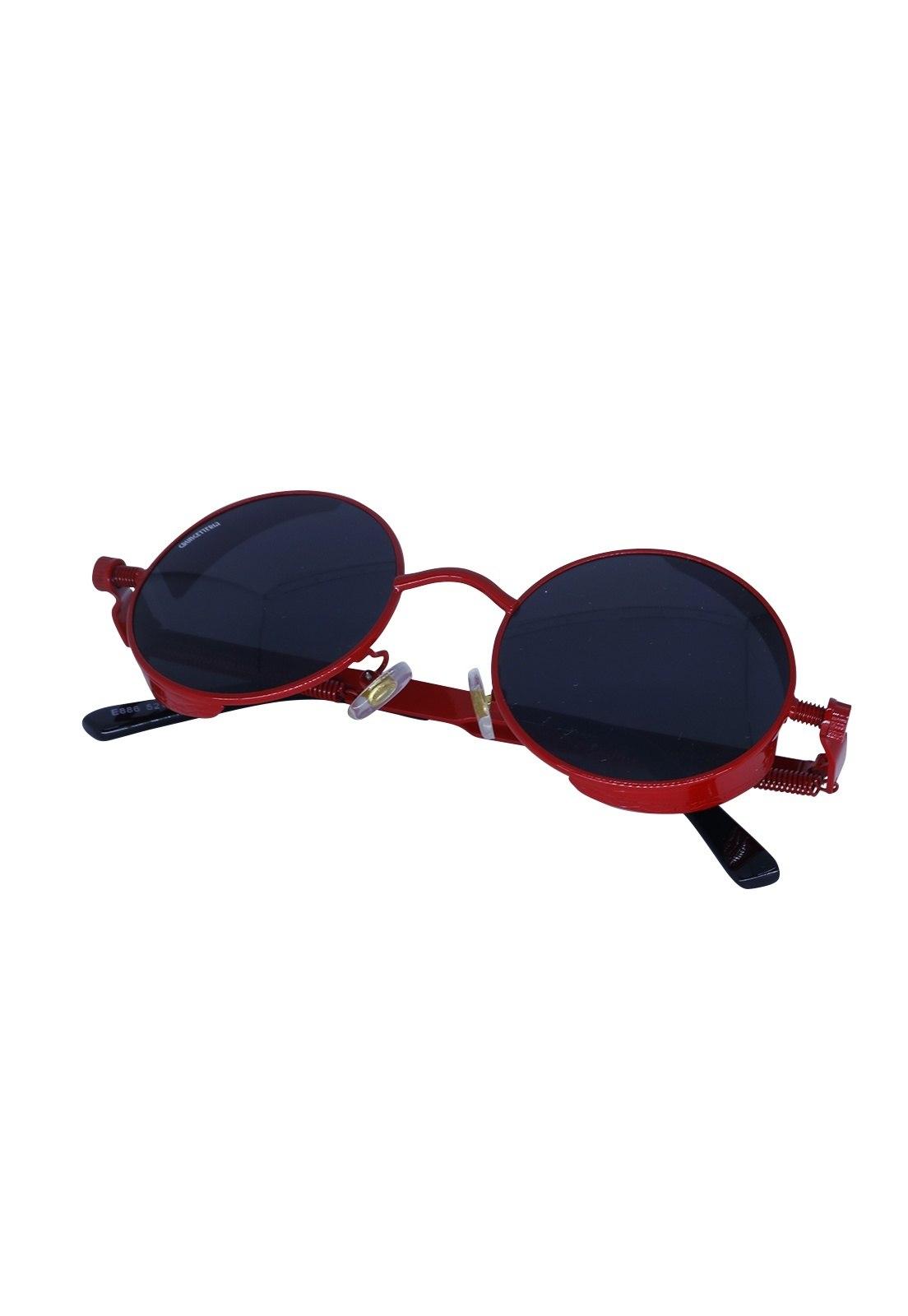 Óculos de Sol Grungetteria Sex Machine Vermelho e PretoCo
