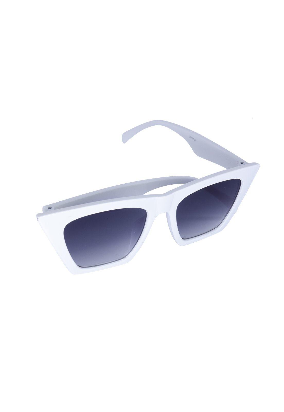 Óculos de Sol Grungetteria Sharp Branco