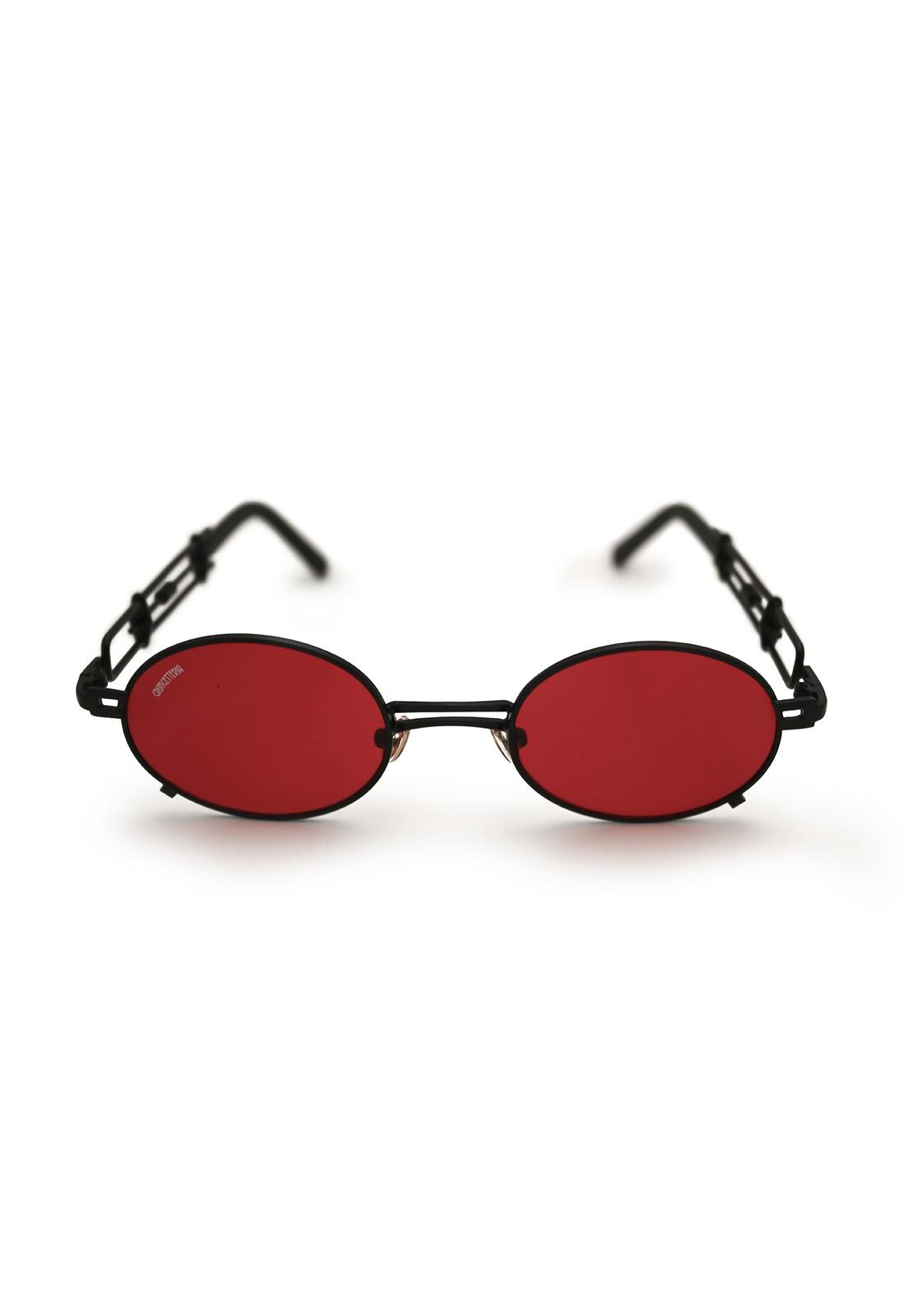 Óculos de Sol Grungetteria Smith Vermelho