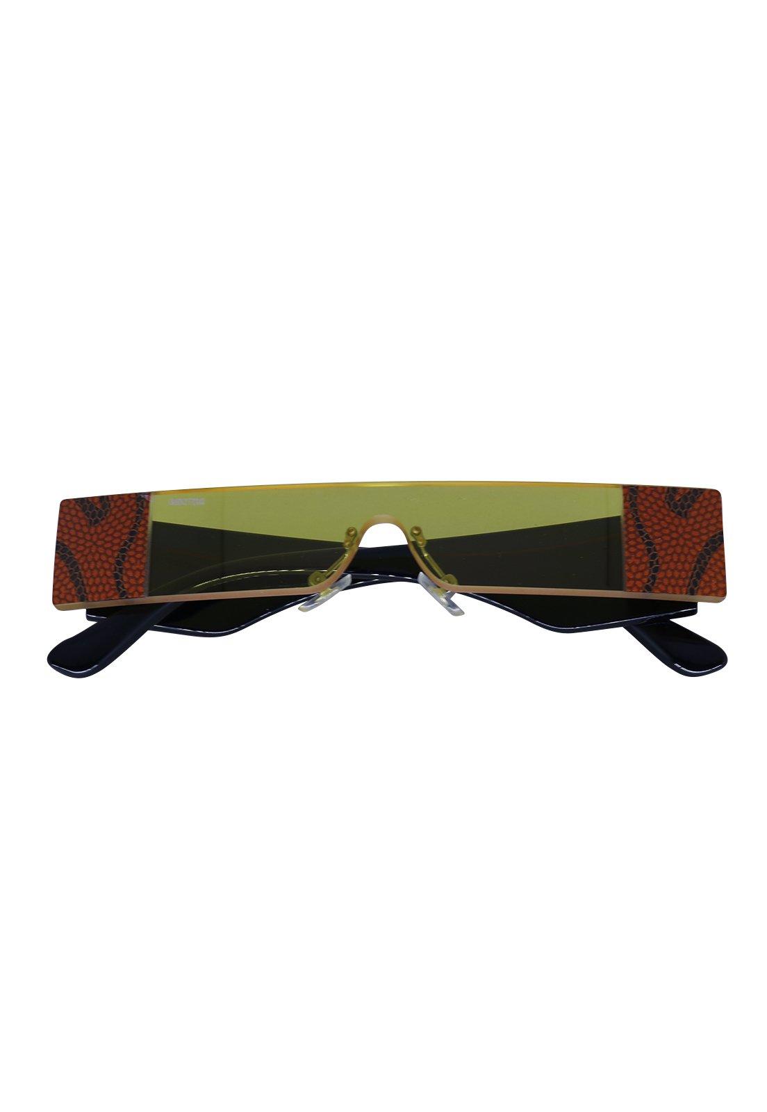 Óculos de Sol Grungetteria Wild Amarelo