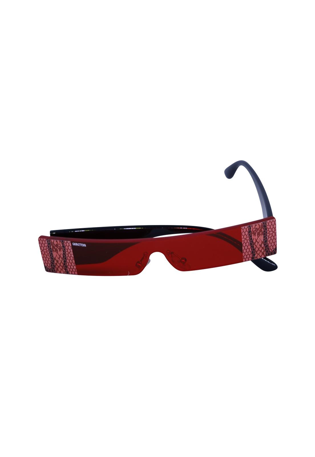 Óculos de Sol Grungetteria Wild Vermelho