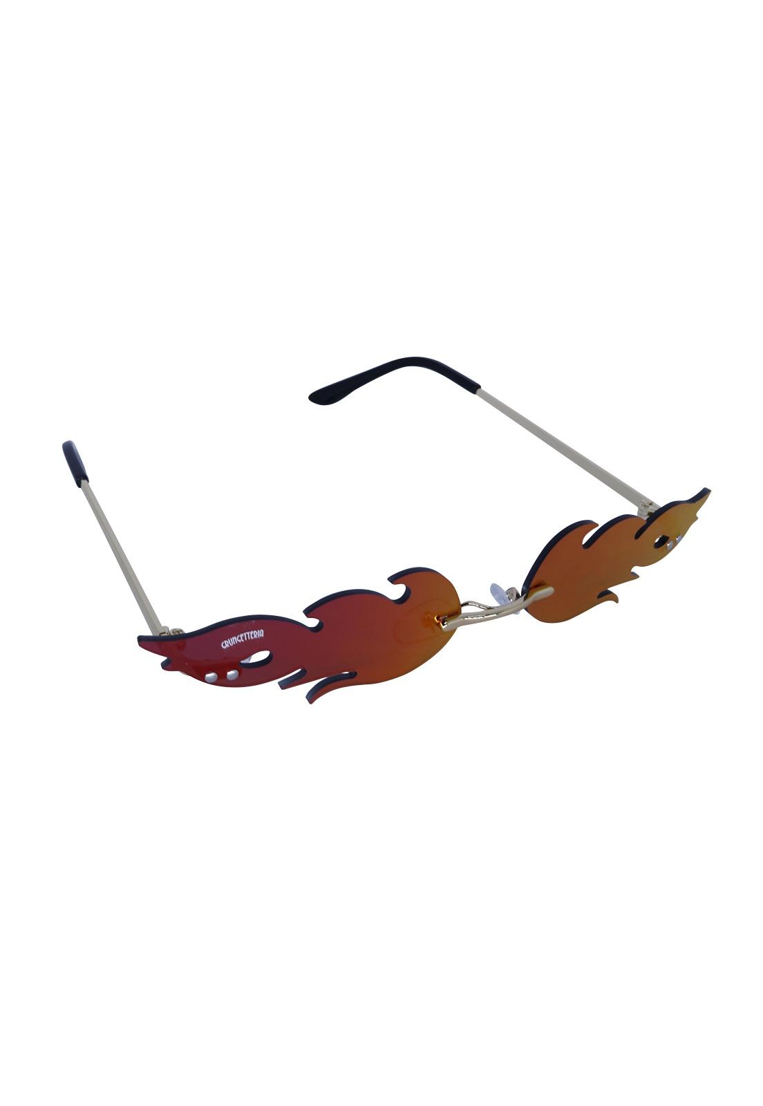 Óculos de Sol Grungetteria Xama Vermelho