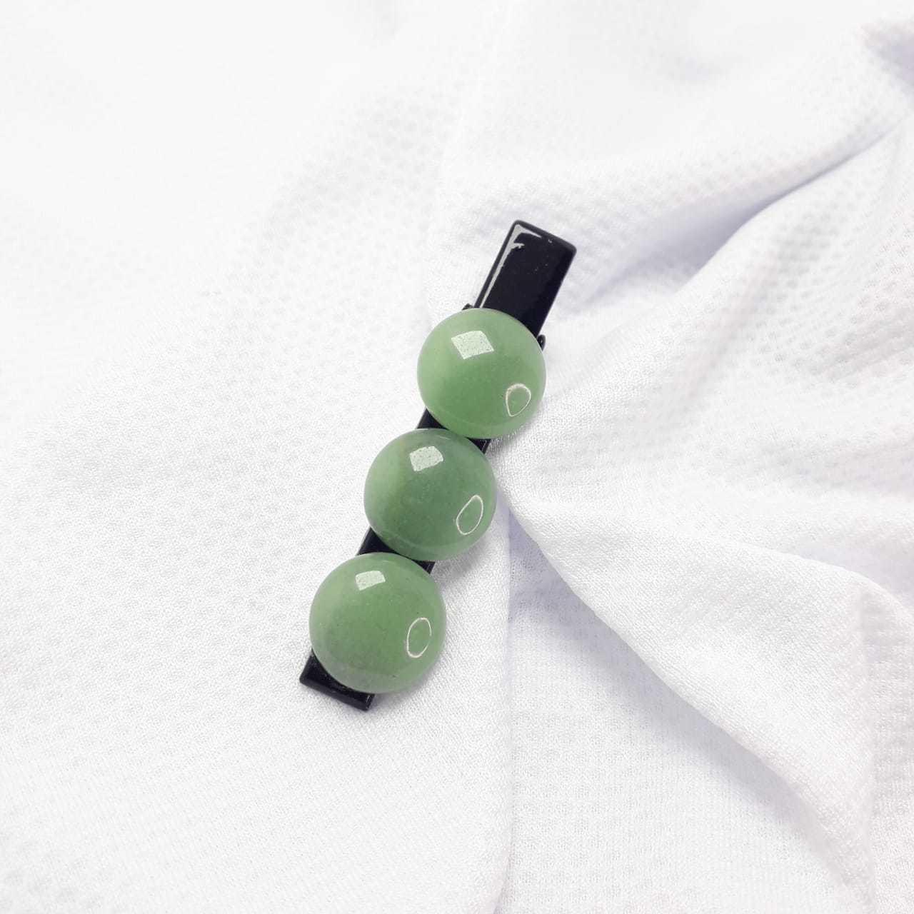 Presilha de Quartzo Verde