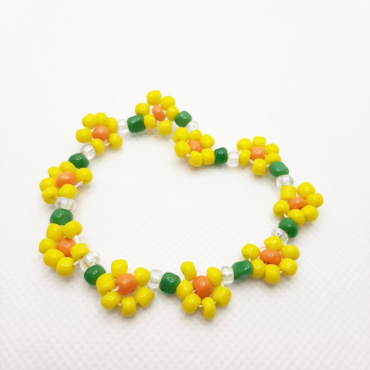 Pulseira Yellow Daisy