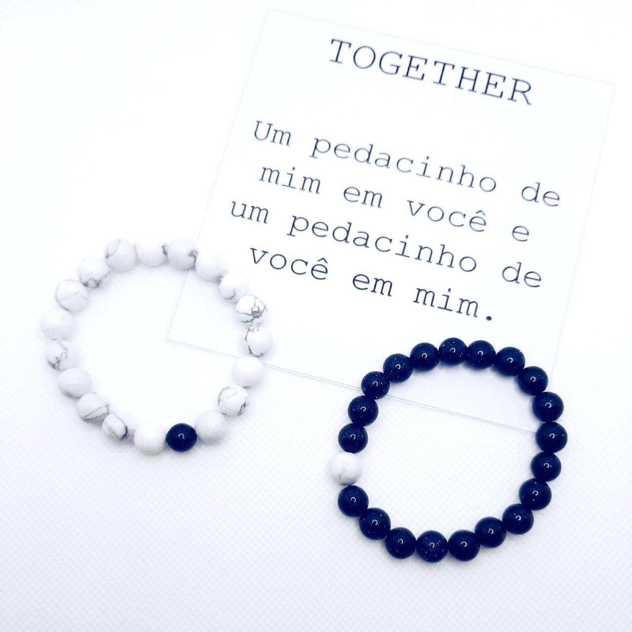 Pulseiras Together (Par)