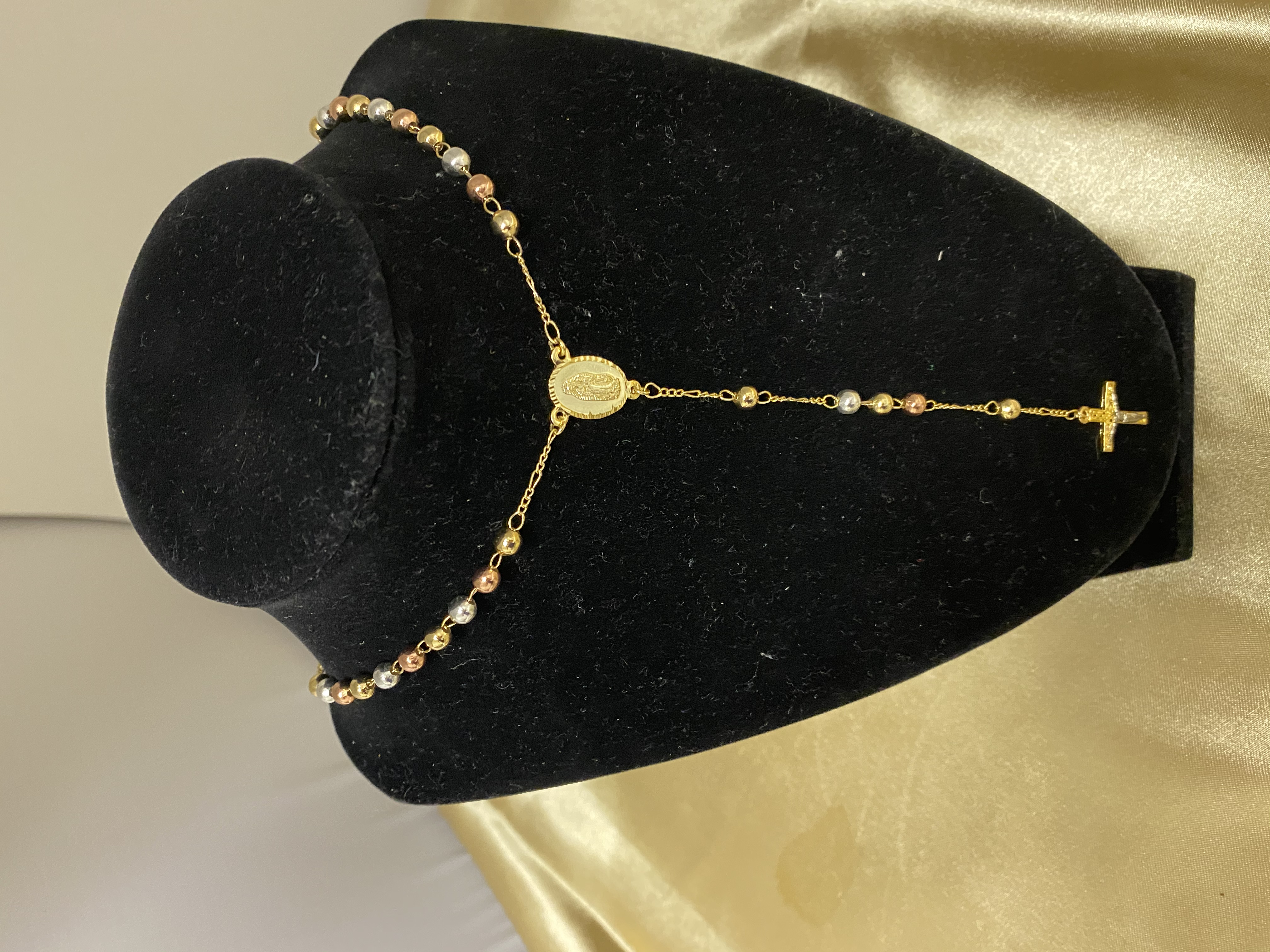 Gold Plated Rosary
