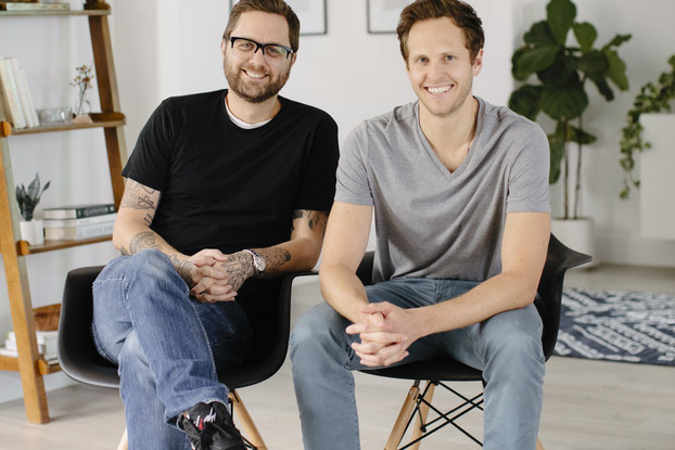From left, Lucas Dickey, co-founder and chief product officer, and Michael Barlow, Co-founder and CEO, Fernish