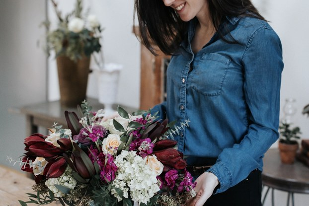 Studio 539 Flowers Owner and Creative Director Michelle Lariviere