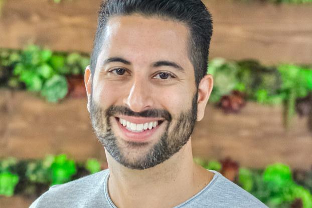 headshot of bloomnation founder farbod shoraka