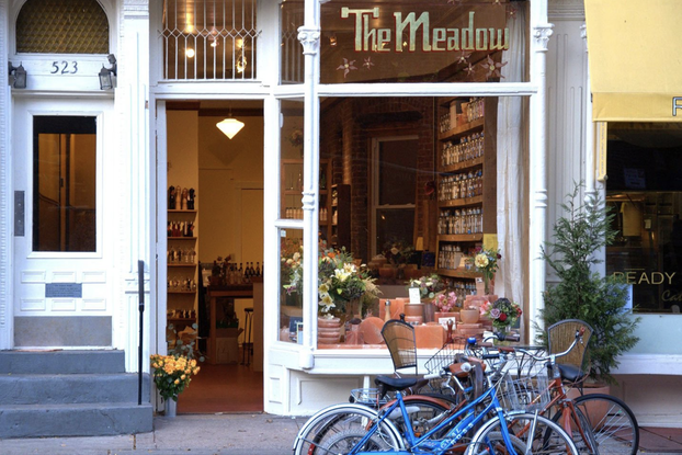 exterior of The Meadow storefront in Portland, Oregon