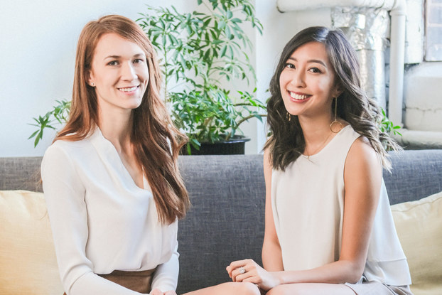 Three Ships co-founders Connie Lo and Laura Burget.