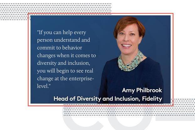 Amy Philbrook, Fidelity