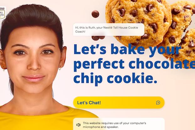 """Ruth, Nestlé's AI """"cookie coach."""""""