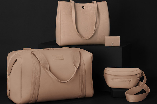 Display of bags by Dagne Dover.