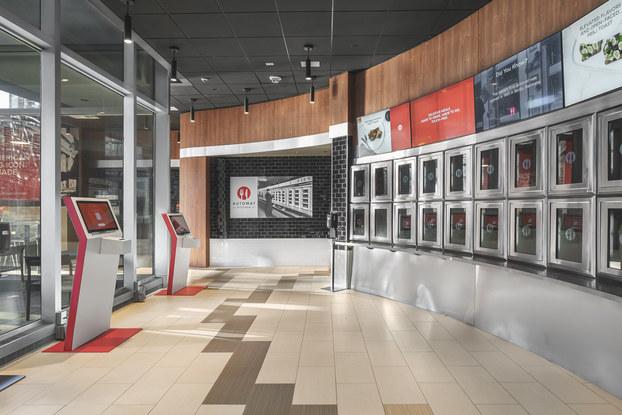 Interior of Automat Kitchen.