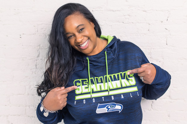 Karen Wilkins-Mickey, vice president of diversity, equity and inclusion, Seattle Seahawks.