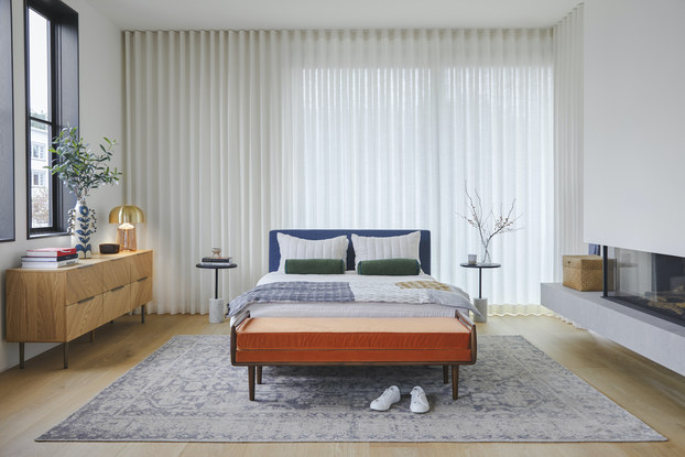 Bedroom decorated with furniture by Article.