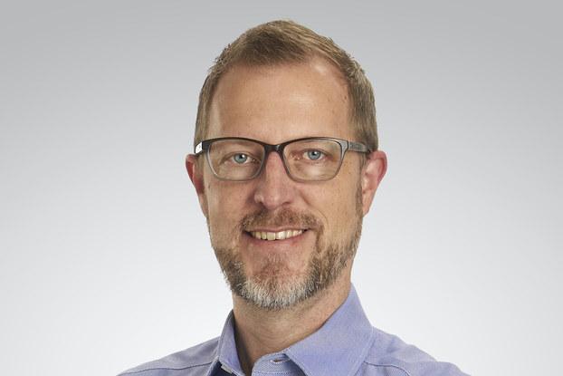 Headshot of Fredrik Carlegren, VP of marketing, Toshiba.