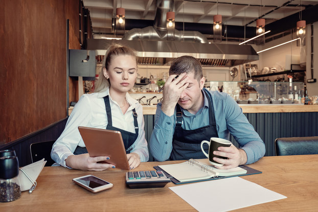 Concerned entrepreneurs calculate financial issue