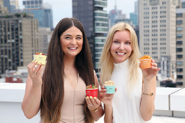 Betsy Fore and Sofia Laurell, co-CEOs and co-founders of Tiny Organics.