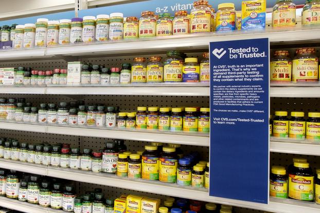 cvs vitamin display