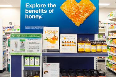 cvs display about honey