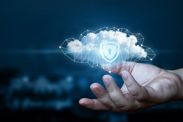 Security cloud with lock