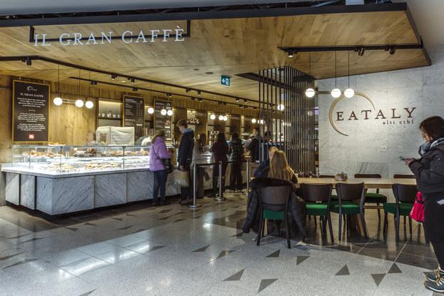 interior of eataly caffe in toronto